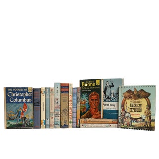 Children's American History Book Set, S/15 For Sale
