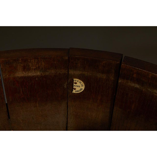 R. A. Lister & Co. Ltd. Oak Bucket With Liner For Sale - Image 9 of 10