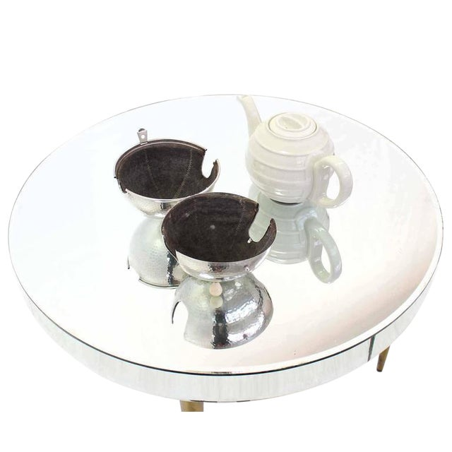 Hollywood Regency WMF Porcelain Tea Pot in Hammered Metal Insulated Cover For Sale - Image 3 of 10