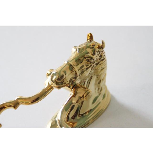 Brass Horse Head Door Knocker - Image 4 of 6