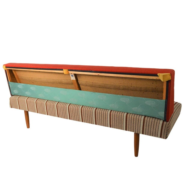 Mid Century Danish Modern Sofa / Daybed - Image 4 of 8