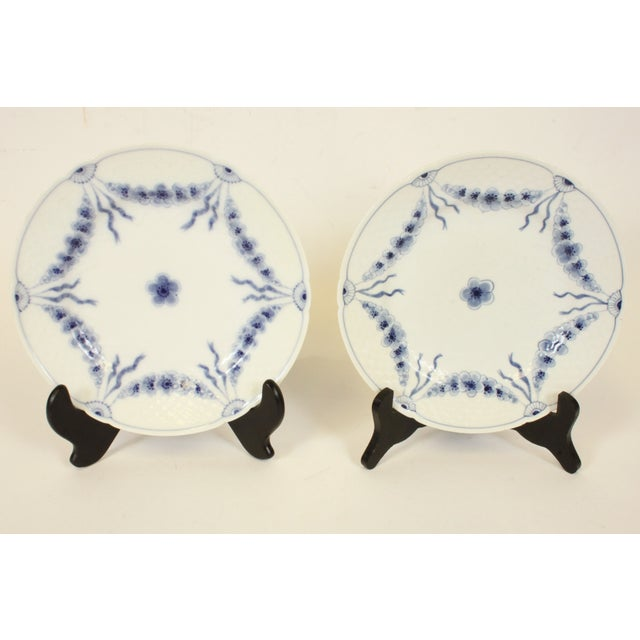 Bing & Grondahl Danish Blue Empire Plates- A Pair - Image 2 of 4