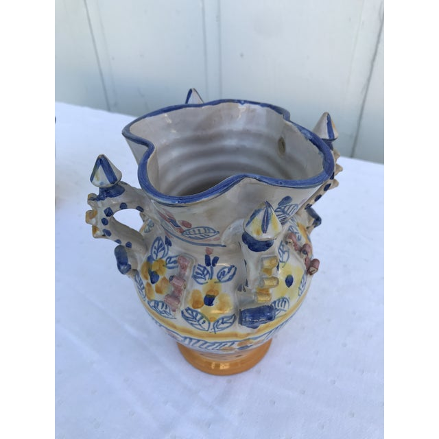 Montalvan Ceramic Vases - a Pair For Sale - Image 12 of 13