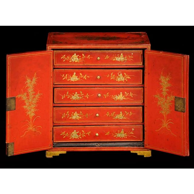 Antique Chinese Export Miniature Cabinet, Circa 1850 For Sale In Boston - Image 6 of 9