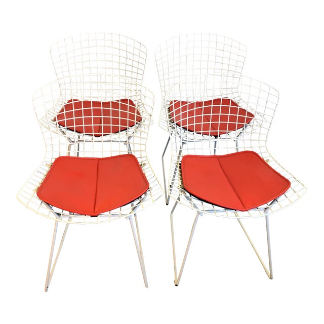 Harry Bertoia for Knoll Chairs - Set of 4 - Image 1 of 7