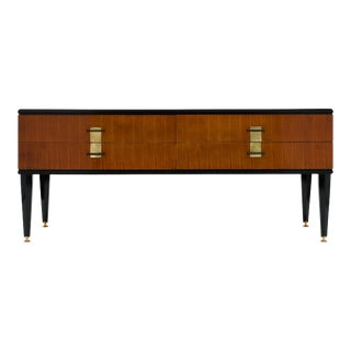 Vintage French Modernist Chest For Sale