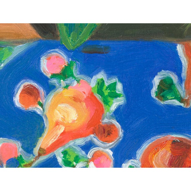 """Contemporary """"Gold-Fish"""" Oil Painting For Sale - Image 3 of 4"""