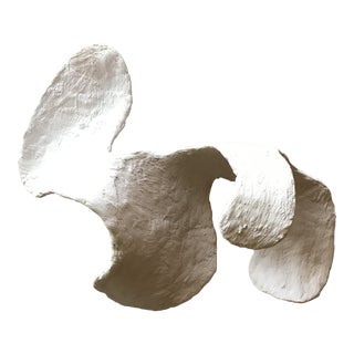 Organic Modern Plaster Sculpture For Sale