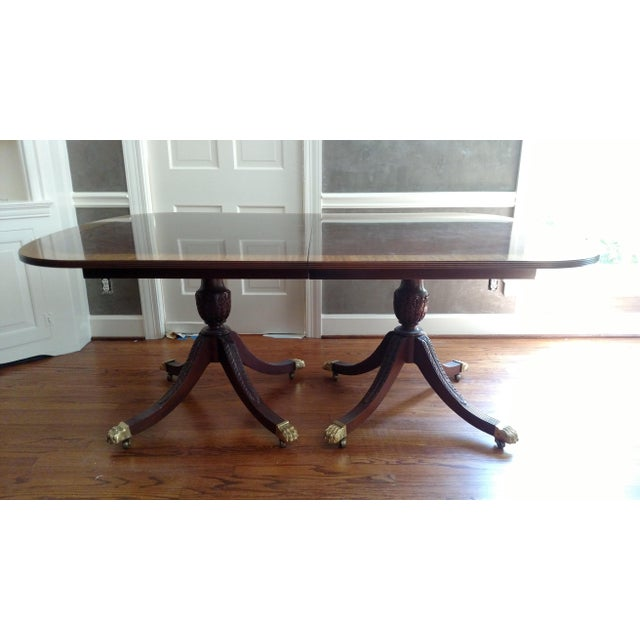 Stickley Classics Mahogany Collection Dining Table - Image 2 of 8