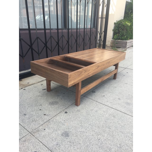 """Not Yet Made - Made To Order Custom Handcrafted """"Rosa"""" Coffee Table For Sale - Image 5 of 13"""