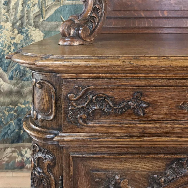 Late 19th Century 19th Century Liegeois China Buffet For Sale - Image 5 of 13