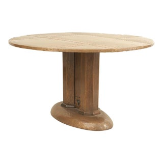 English Arts and Crafts Copper Center Table For Sale