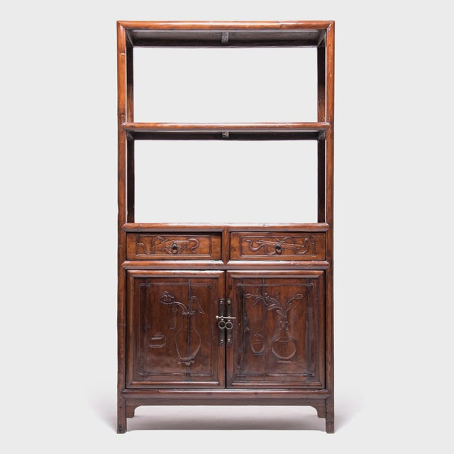 19th Century Chinese Scholars' Shelf For Sale - Image 10 of 10