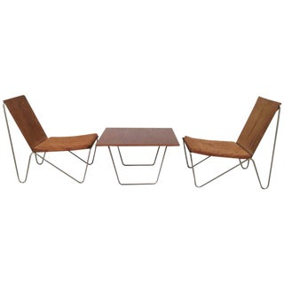 Verner Panton Bachelor Chairs and Table