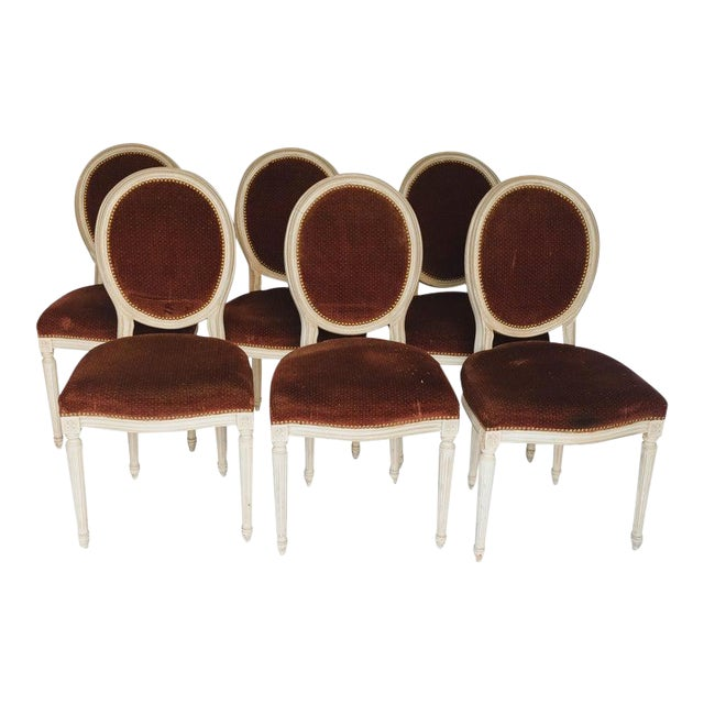 Set of 6 French Chairs For Sale