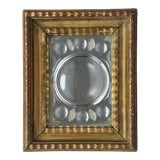 Image of Antique Italian Cut-Glass Mirror in Gilded Frame For Sale