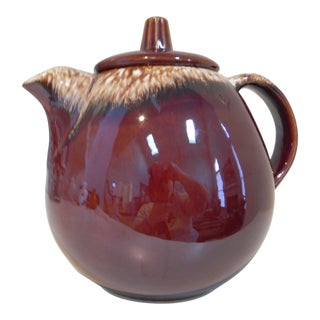 1970s Hull Pottery Teapot For Sale