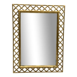 Regency Style Gilt Wood Mirror For Sale