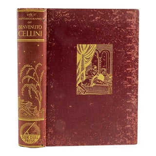 The Autobiography of Benvenuto Cellini, 1932 For Sale