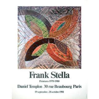 "Frank Stella Polar Coordinates, Variant I 31.5"" X 23.5"" Poster 1980 For Sale"