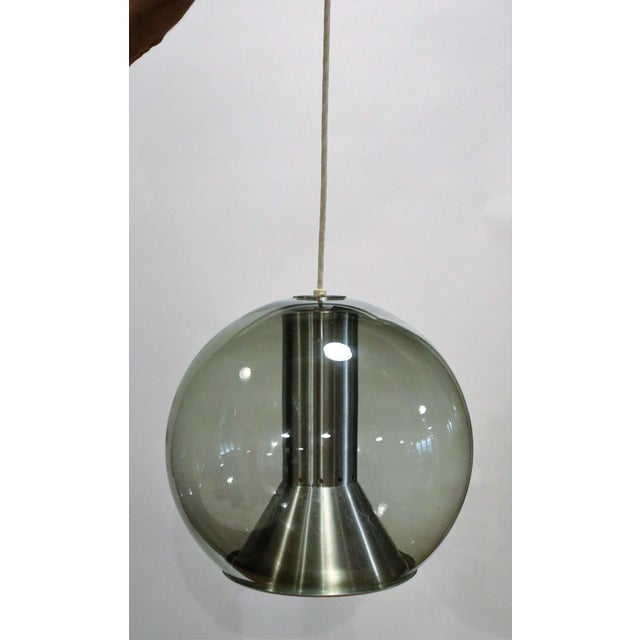 Ceiling Lamp by Franck Ligtelijn for Raak, 1960s For Sale In Chicago - Image 6 of 6