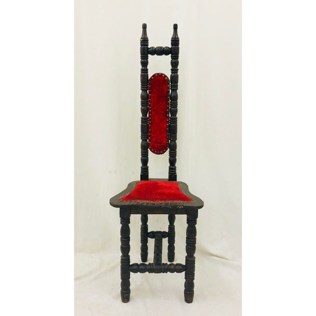 Antique Wooden Chair For Sale - Image 12 of 13