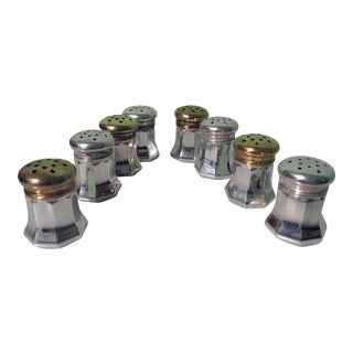 Cartier Sterling Silver Salt & Pepper Shakers - Set of 8