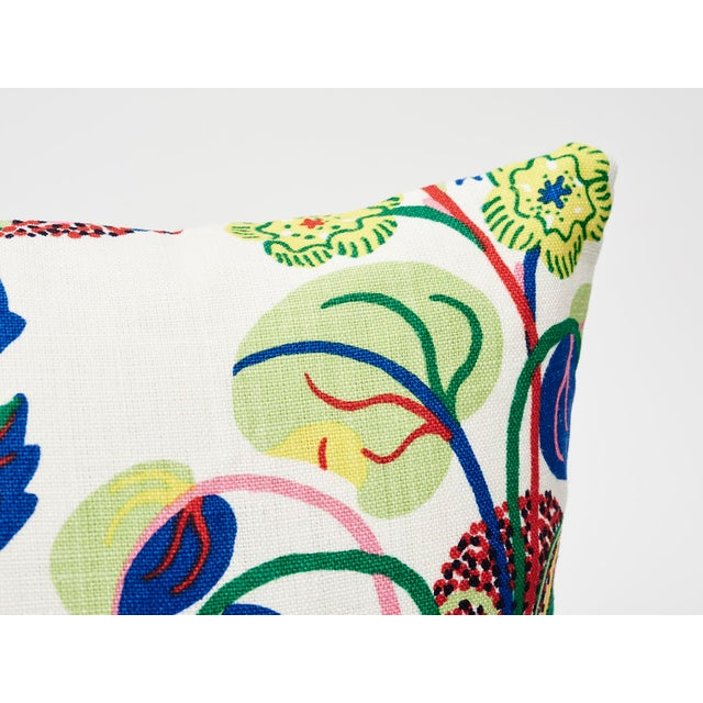 2010s Schumacher Pillow in Exotic Butterfly Spring Print For Sale - Image 5 of 7