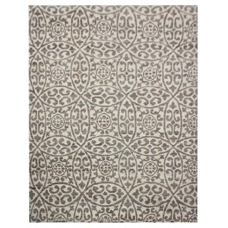 """Aara Rugs Inc. Hand Knotted Moroccan Rug - 7'11"""" X 9'5"""" For Sale"""