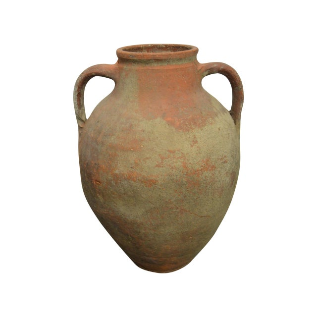 Amphora Greek Antique Pottery - Image 1 of 4