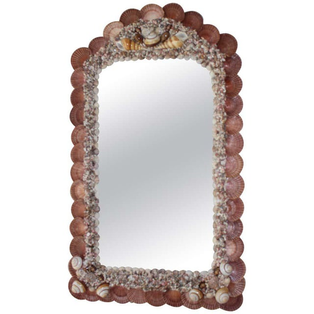 Seashell Encrusted Mirror by Snob Galeries For Sale - Image 12 of 13
