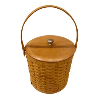 Longaberger Basket Ice Bucket For Sale