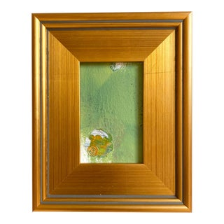 Mossy Floor Mini Painting With Frame For Sale