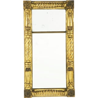 19th Century Federal Gilt Pier Mirror For Sale