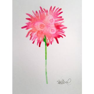 """""""Sparkling Bloom"""" Original Watercolor Painting For Sale"""
