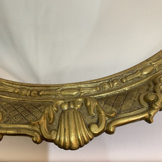 French Gilt Bronze Mirrored Tray For Sale - Image 4 of 9