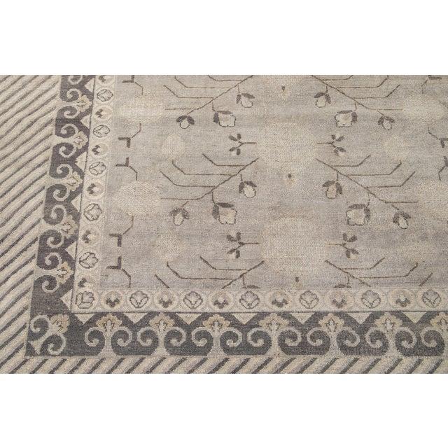 21st Century Modern Kohtan Wool Rug For Sale - Image 10 of 13