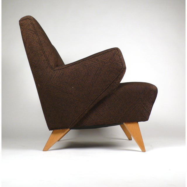 Knoll Early Lounge Chair by Jens Risom For Sale - Image 4 of 6