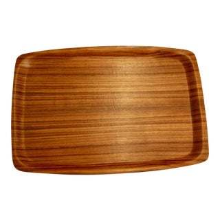 Japanese Mid-Century Modern Bent Ayous Plywood Tray For Sale