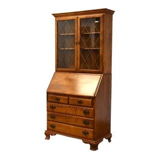 Ethan Allen Heirloom Maple Secretary Desk For Sale