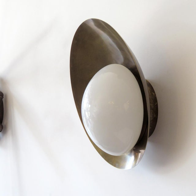 """Gallery L7 Custom """"Concha"""" Wall Lights For Sale - Image 4 of 11"""