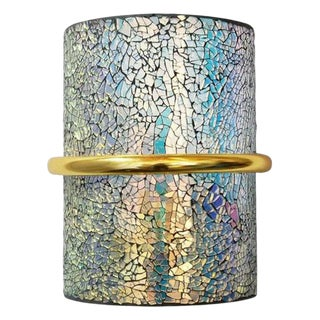 Crackled Sconces by Fabio Ltd (12 Available) For Sale