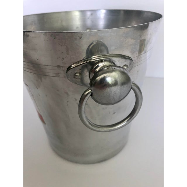 Late 20th Century Vintage Mumm & Co. Cordon Rouge French Champagne Ice Bucket For Sale - Image 5 of 9