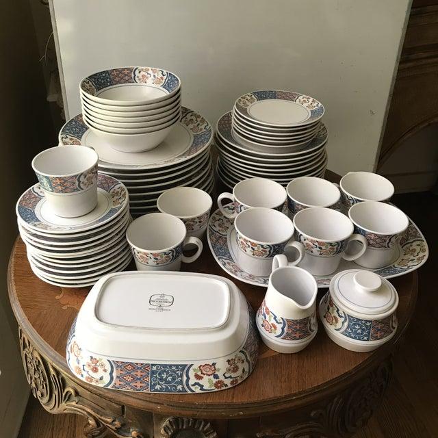 Vintage Noritake Progression Ming Garden Dinnerware - 54 Piece Set,reduced Final For Sale - Image 9 of 11