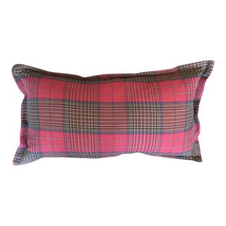 Ralph Lauren Scottish Tartan Plaid Lumbar Pillow 4 Available