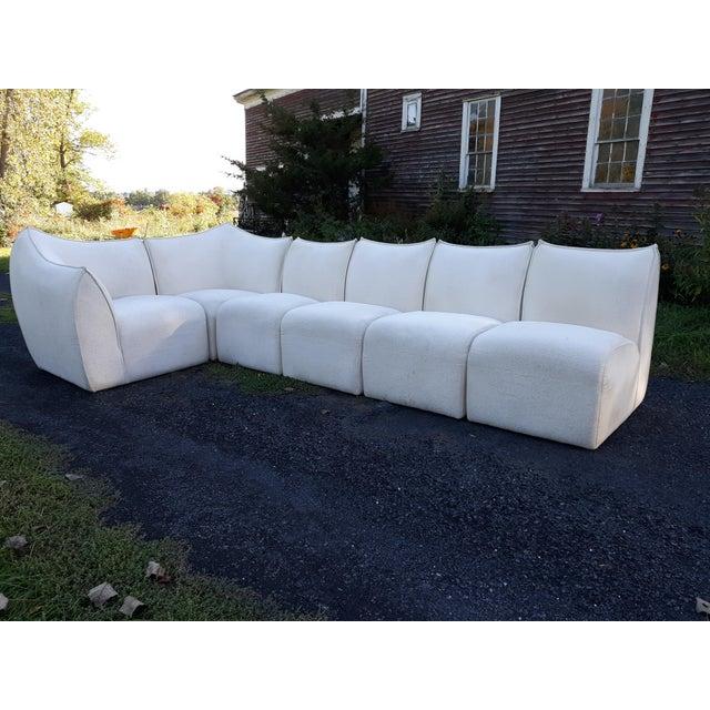 Mario Bellini for B&b Italia Le Bambole 6 Piece Sectional Sofa For Sale - Image 13 of 13