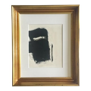 Abstract Study in Black and White For Sale
