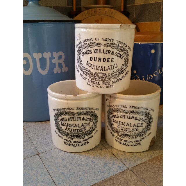 19th Century Marmalade Crocks - Three - Image 2 of 4