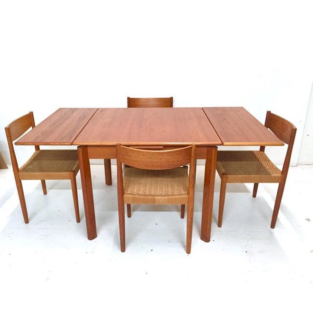 1960s Danish Mid-Century Modern Teak Dining Set - Image 2 of 11