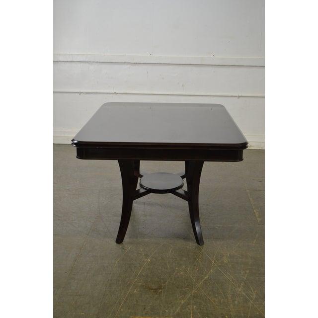 Jonathan Charles Kallos Custom Mahogany Dining Table - Image 9 of 11
